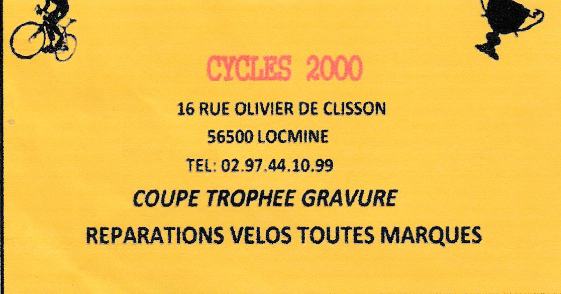 Cycles 2000